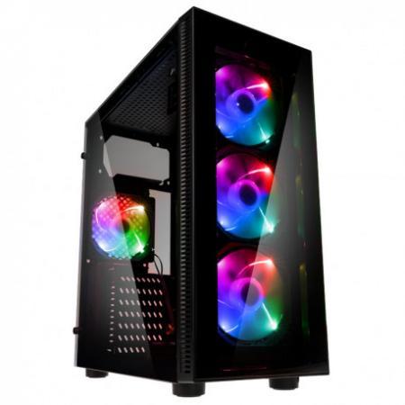 מחשב נייח גיימינג מבוסס Intel i5-9400F, זיכרון 16GB, כונן 480GB SSD + 500GB HDD, מאיץ גרפי GTX 1650 4GB ומערכת הפעלה Windows 10