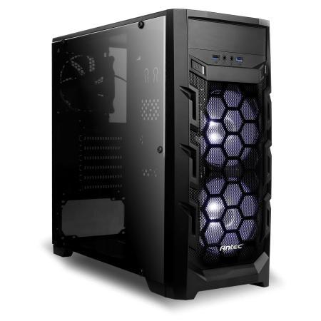 מחשב נייח גיימינג מבוסס AMD R7 3700X, זיכרון 16GB, כונן 480GB SSD HDD, מאיץ גרפי GTX 1660 6GB, ללא מערכת הפעלה