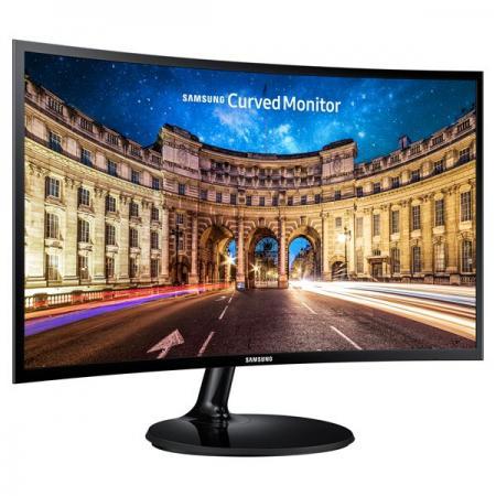 מסך מחשב קעור Samsung 23.5″ C24F390FHU Curved