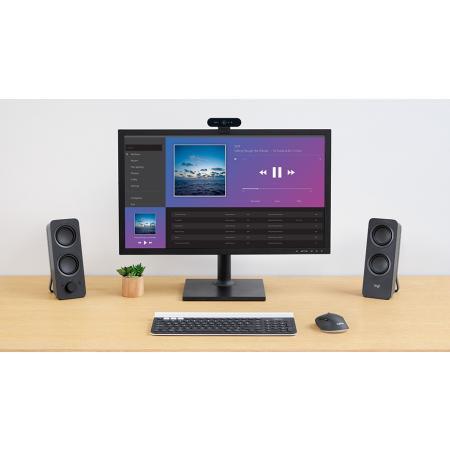 רמקולים אלחוטיים למחשב Logitech Z207 2.0 Bluetooth