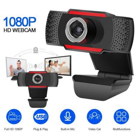 מצלמת רשת איכותית Full HD 1080p כולל מיקרופון מובנה