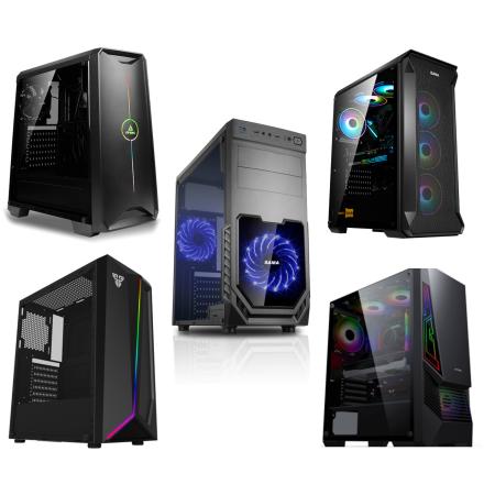 מחשב נייח גיימינג דור עשירי Intel i5-10400F, זיכרון 8GB, כונן SSD בנפח 480GB, מאיץ גרפי GTX 1650 4GB ומערכת הפעלה Windows 10