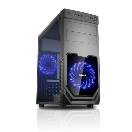 מחשב גיימינג Intel i5-10400F, זיכרון 16GB, כונן 500GB SSD, מאיץ גרפי GTX 1660 Super 6GB ומערכת הפעלה Windows 10