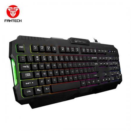 מקלדת גיימינג Fantech K511 Hunter Pro כולל תאורה צבעונית