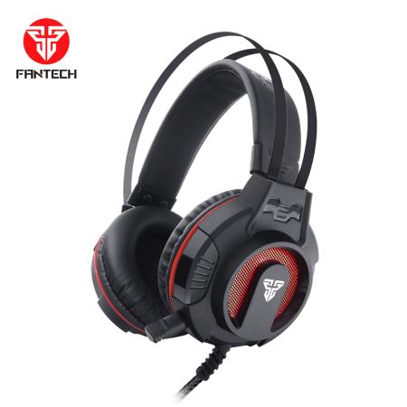 אוזניות גיימינג Fantech HG17 Visage II כולל מיקרופון ותאורה צבעונית