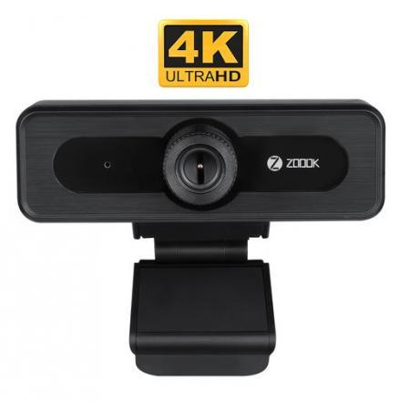 מצלמת רשת 4K איכותית Zoook – כולל מיקרופון מובנה