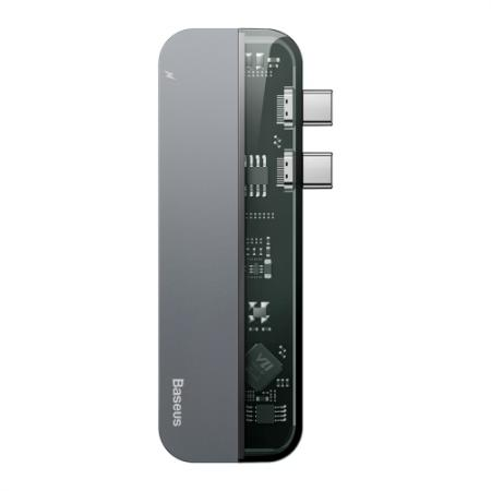 מפצל חכם Baseus Multi 5in1 USB-C