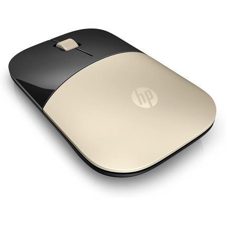 עכבר אופטי אלחוטי HP Z3700 Gold & Black