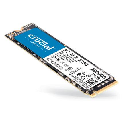 כונן Crucial P2 500GB PCIe M.2 2280 SSD